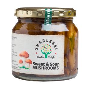 Sweet & Sour Mushrooms
